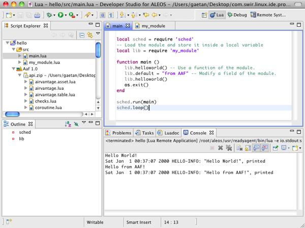 Installing the Developer Studio